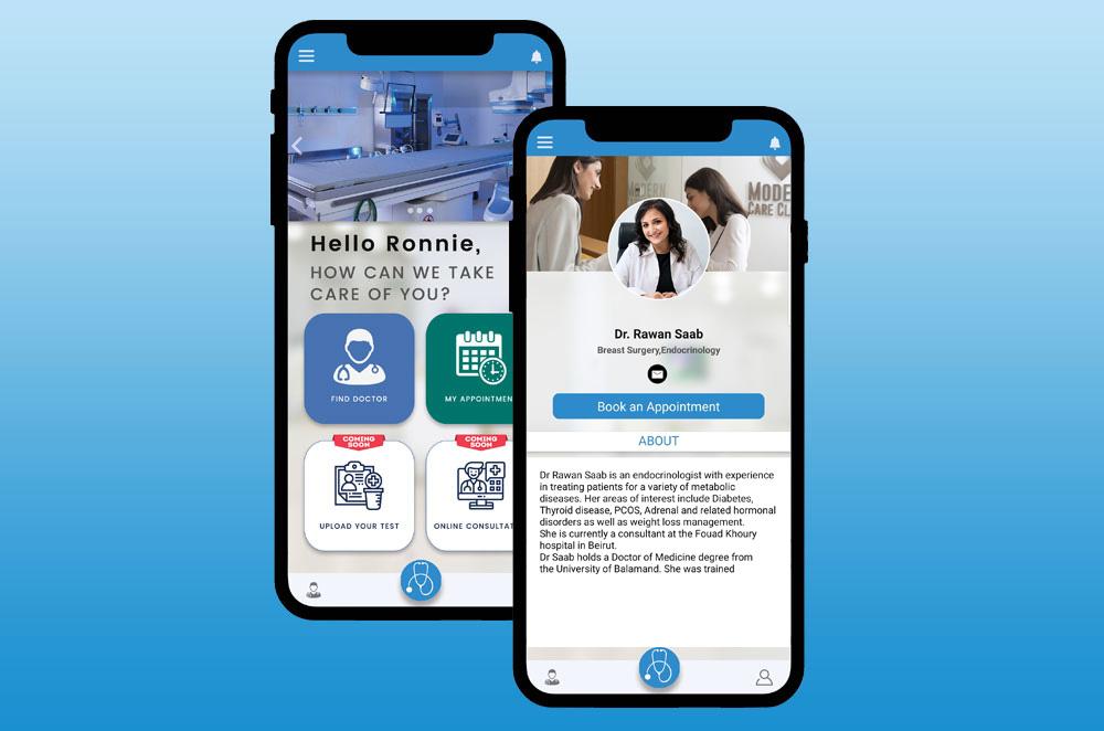 Moderncare Mobile App